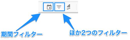 Googleデータポータルでフィルターを追加する