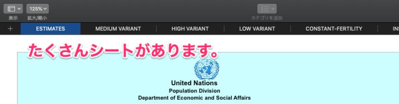 Tableau Prepでデータ準備にするのはなんと国連データ