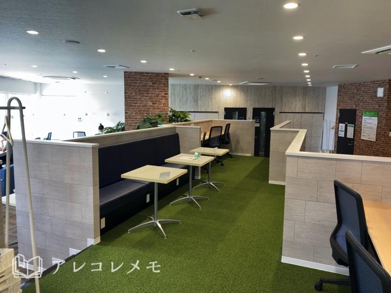 コワーキングスペース・レンタルオフィスの法人会員契約プラン・登記(ワークブース)