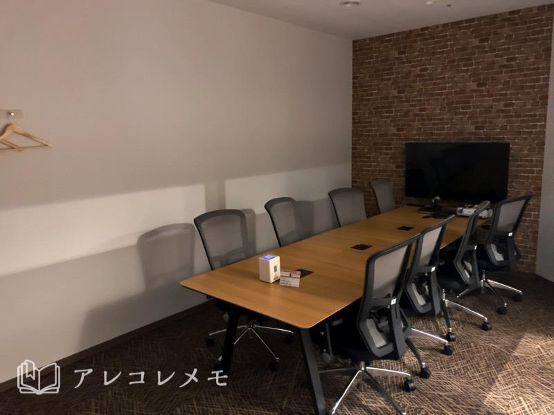 コワーキングスペース・レンタルオフィスの法人会員契約プラン・登記(ミーティングブース)
