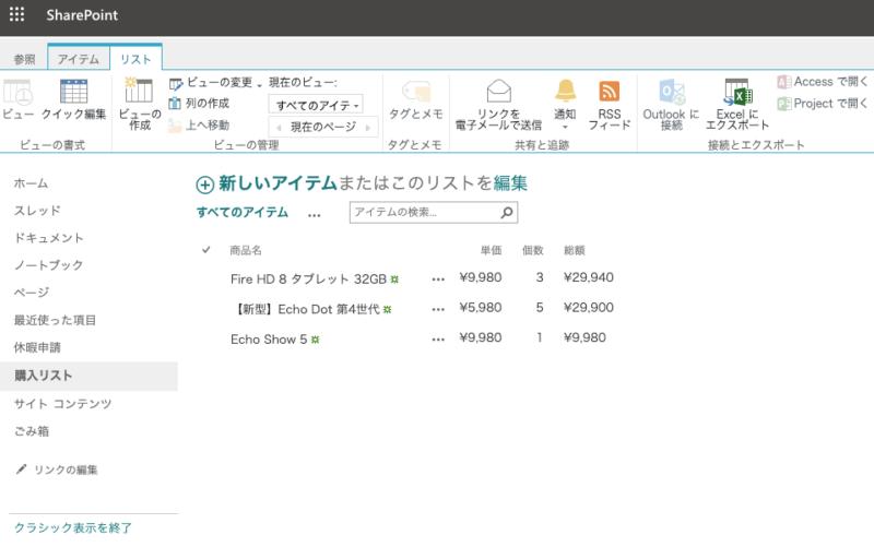 SharePointモダンUIからクラシックUIに戻した