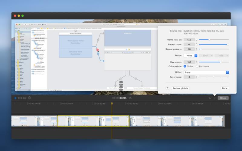 GIFアニメーションツールのGifoxがバージョン2へアップグレード(GIF録画の再編集が可能になった。これはすごいかも)