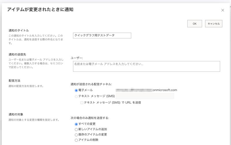 Sharepoint Online通知設定方法。メール・Teams連携、カスタマイズ文面(通知を設定する)